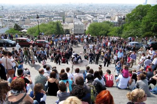 straattheater publiek