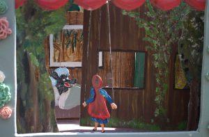 Roodkapje Petras sprookjestheater www.elcapstok.nl