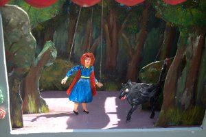 Roodkapje wolf, Petras sprookjestheater www.elcapstok.nl
