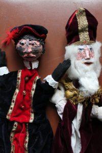 Roet Piet Sinterklaas poppenkast El capstok