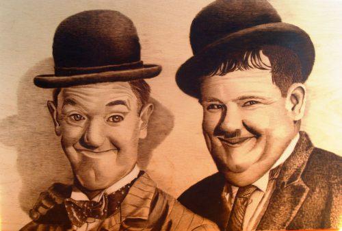 Observeren Laurel Hardy