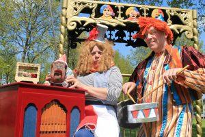 El capstok straattheater circus