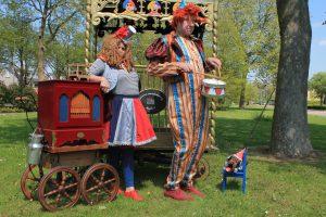 straattheater circus automat