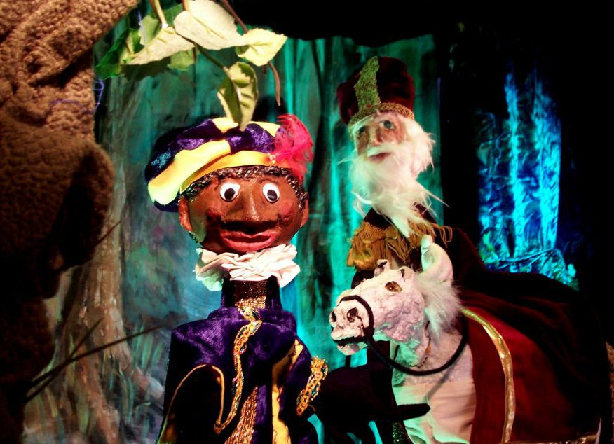 Sinterklaaspoppenkast El Capstok