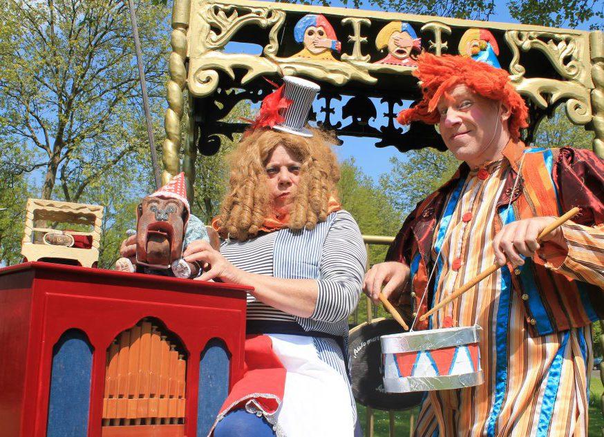 Straattheater: Circus Automaat