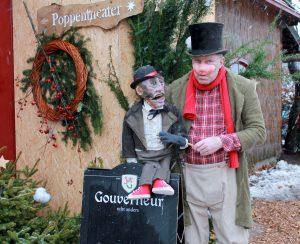 Kerstpoppenkast Lange weg naar Prikkedam