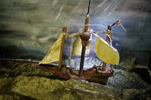 Scheepje storm Robinson Crusoe poppentheater