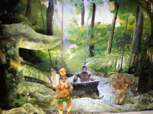 Bosjesmannen Robinson Crusoe poppentheater