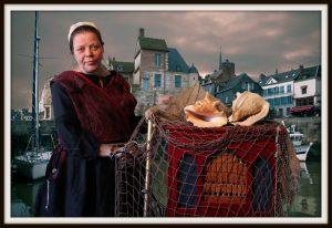 draaiorgel vissersvrouw