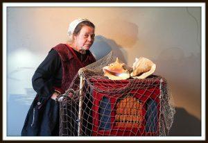 vissersvrouw draaiorgeltje