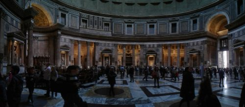 Rome wonder van waarden pantheon