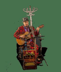 Ben Jur Muzikant en theatermaker